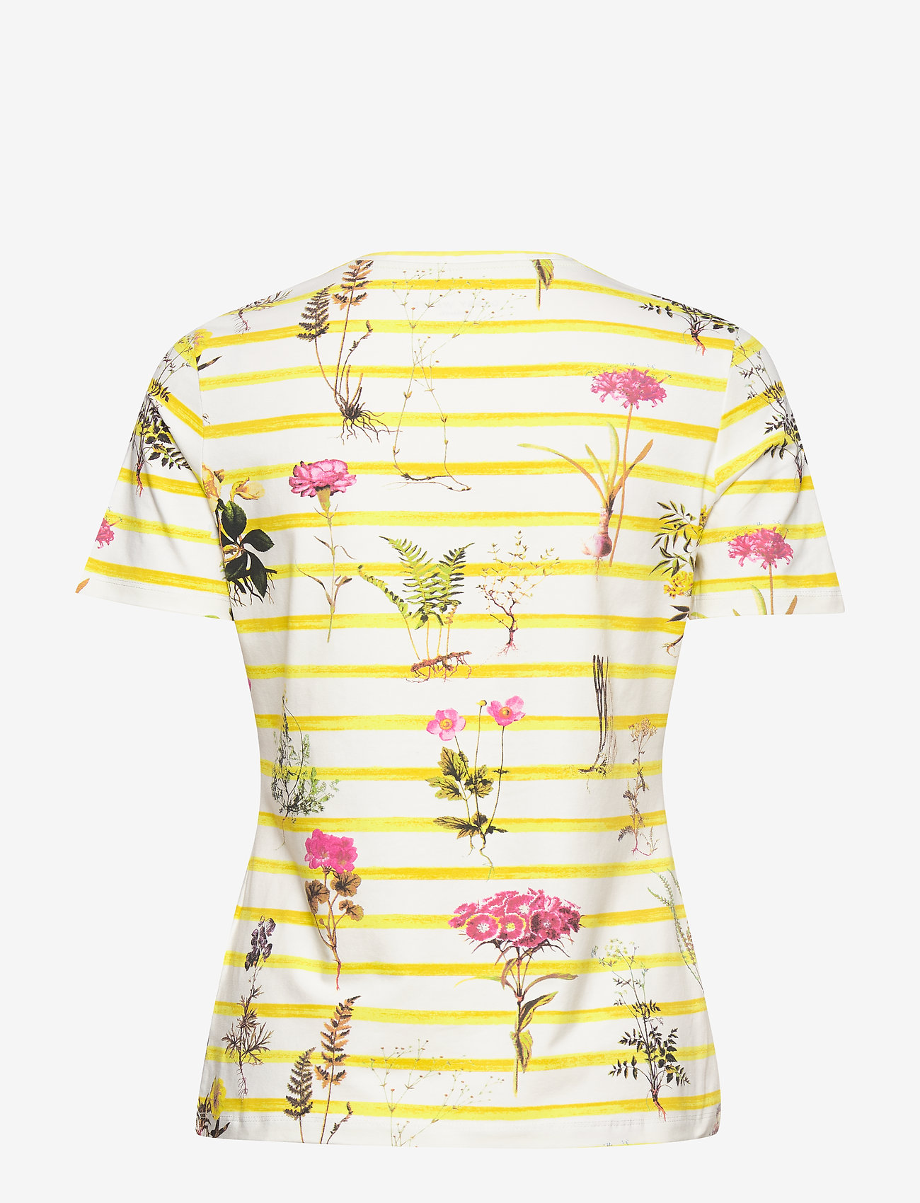 T-shirt Short-sleeve (Green/lilac/pink Stripes) - Gerry Weber Edition osbM2b