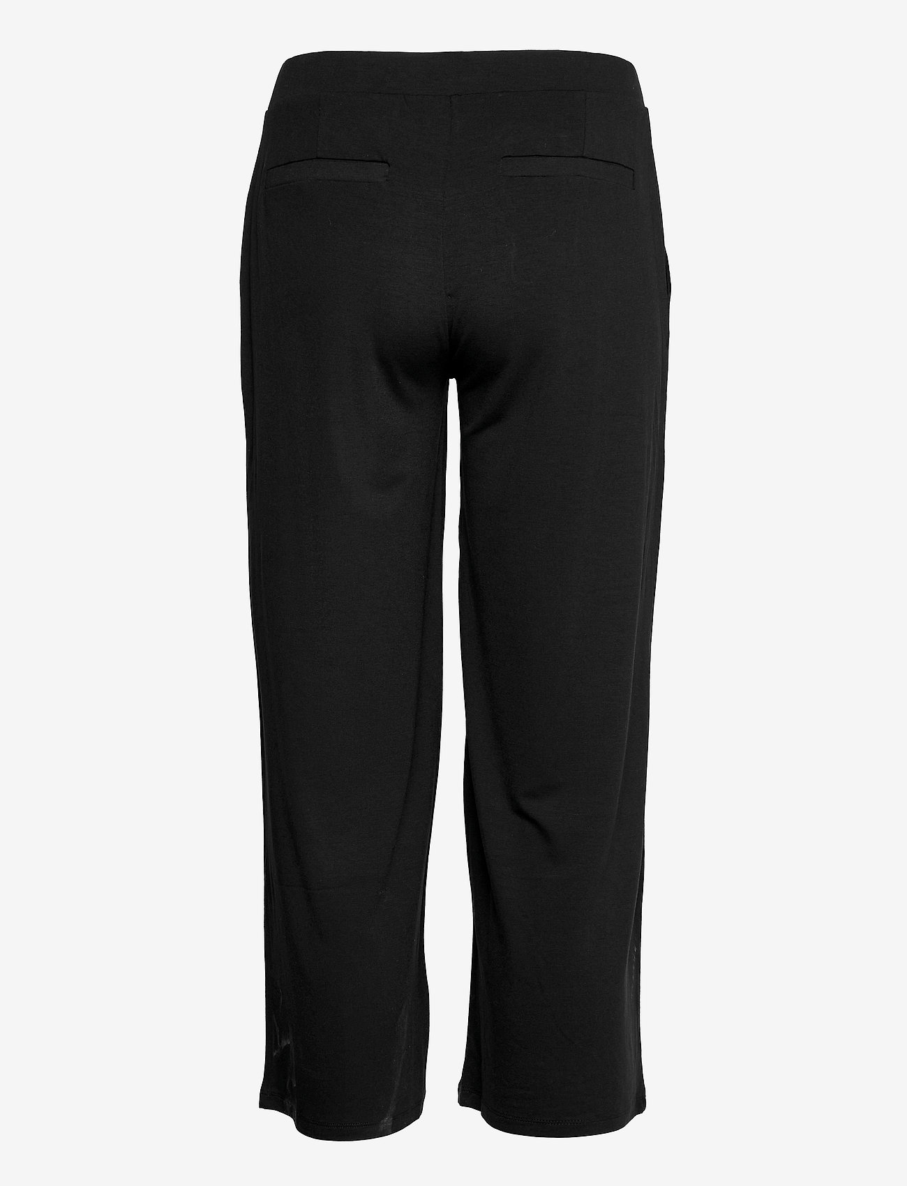 Gerry Weber Edition - TROUSERS KNITTED FAB - black - 1