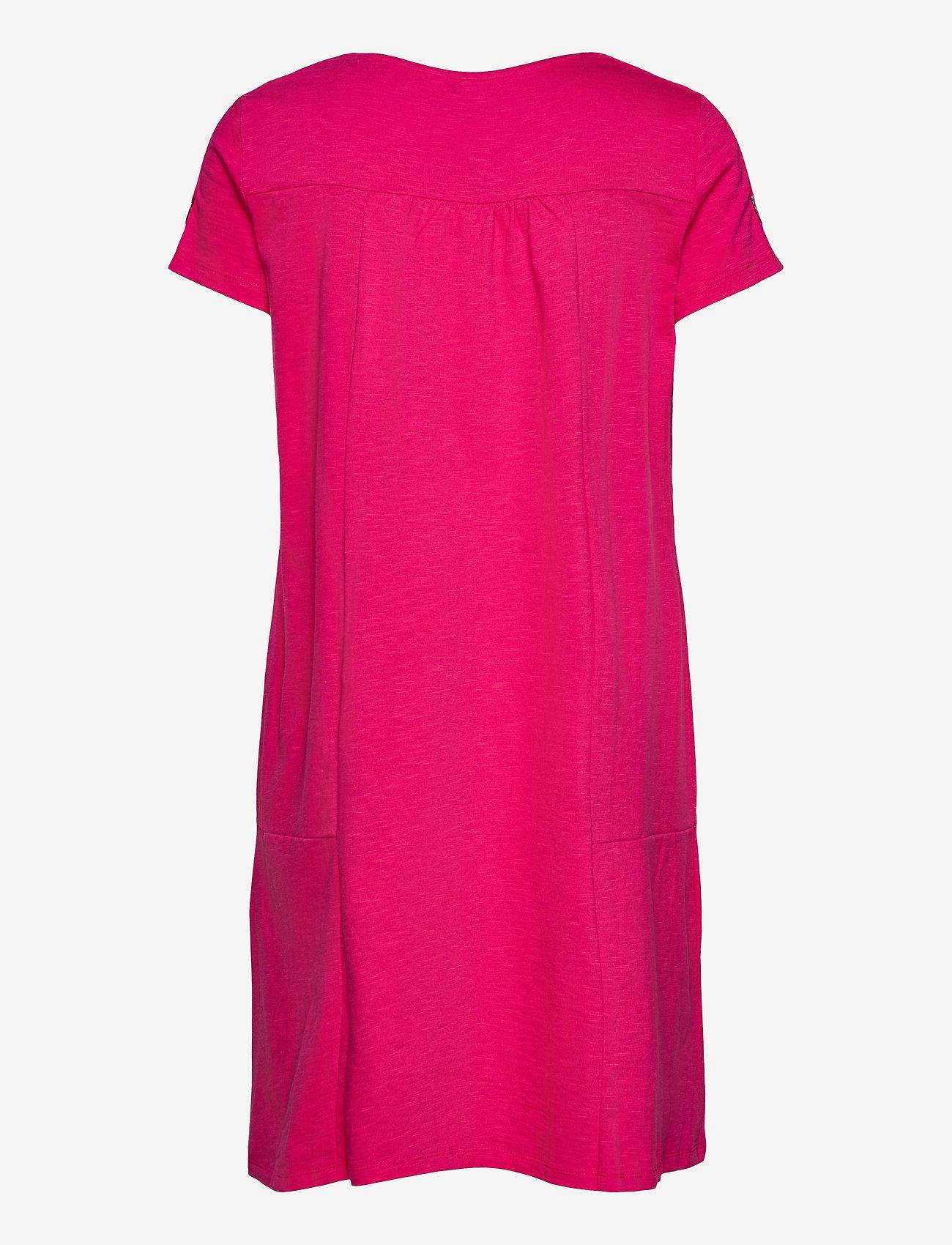 Gerry Weber Edition - DRESS KNITTED FABRIC - robes d'été - rasberry - 1