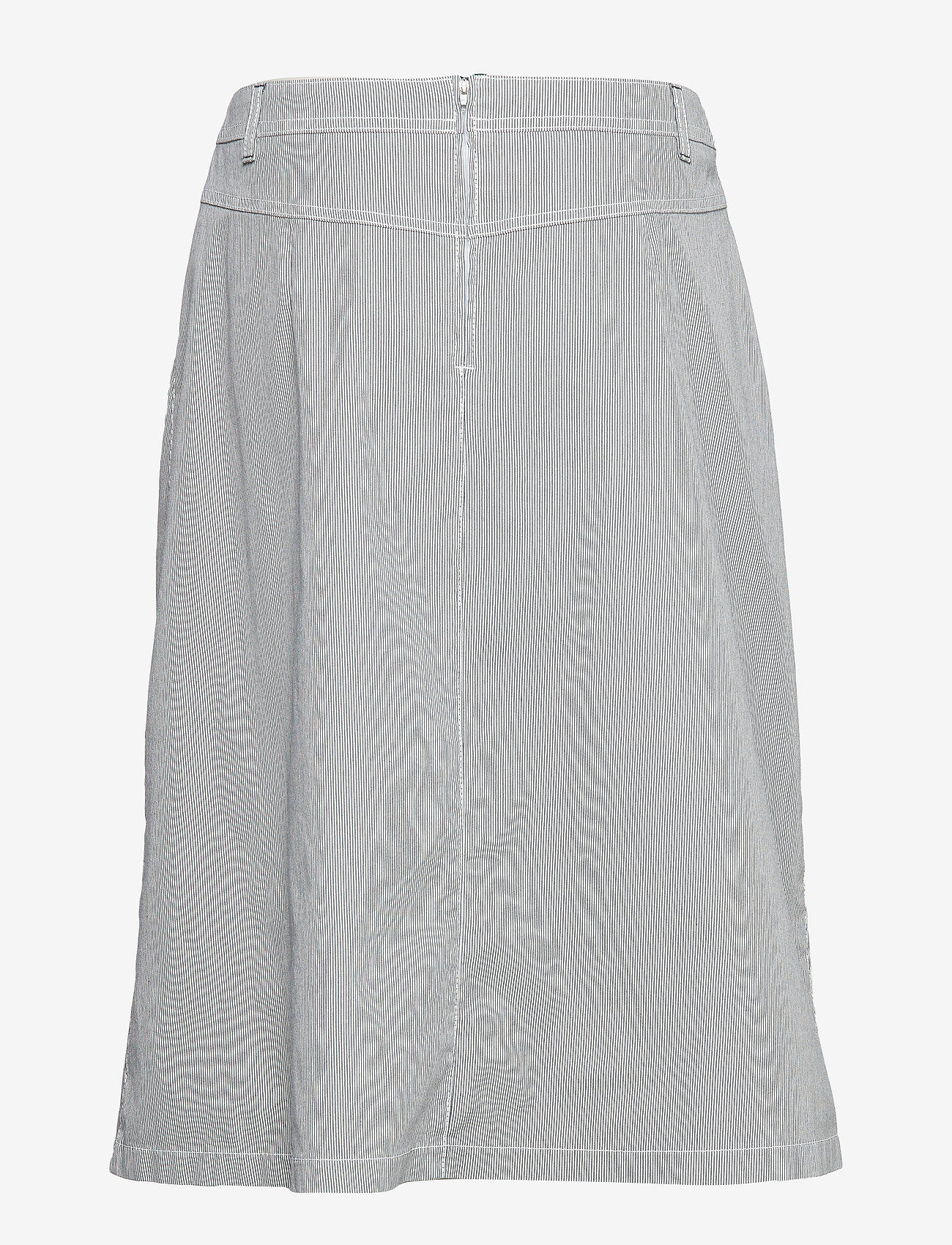 Skirt Long Woven Fab (Blue/white) - Gerry Weber Edition lE3wuE