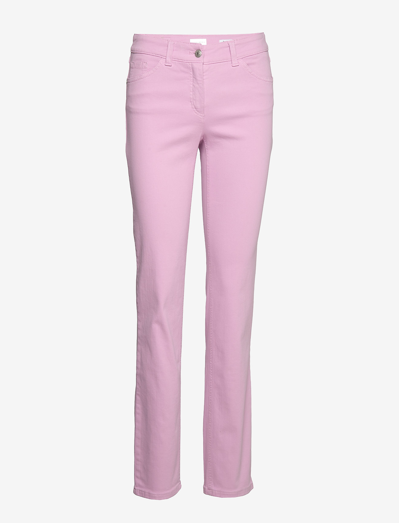 Gerry Weber Edition - JEANS LONG - straight jeans - pastel lavender - 0
