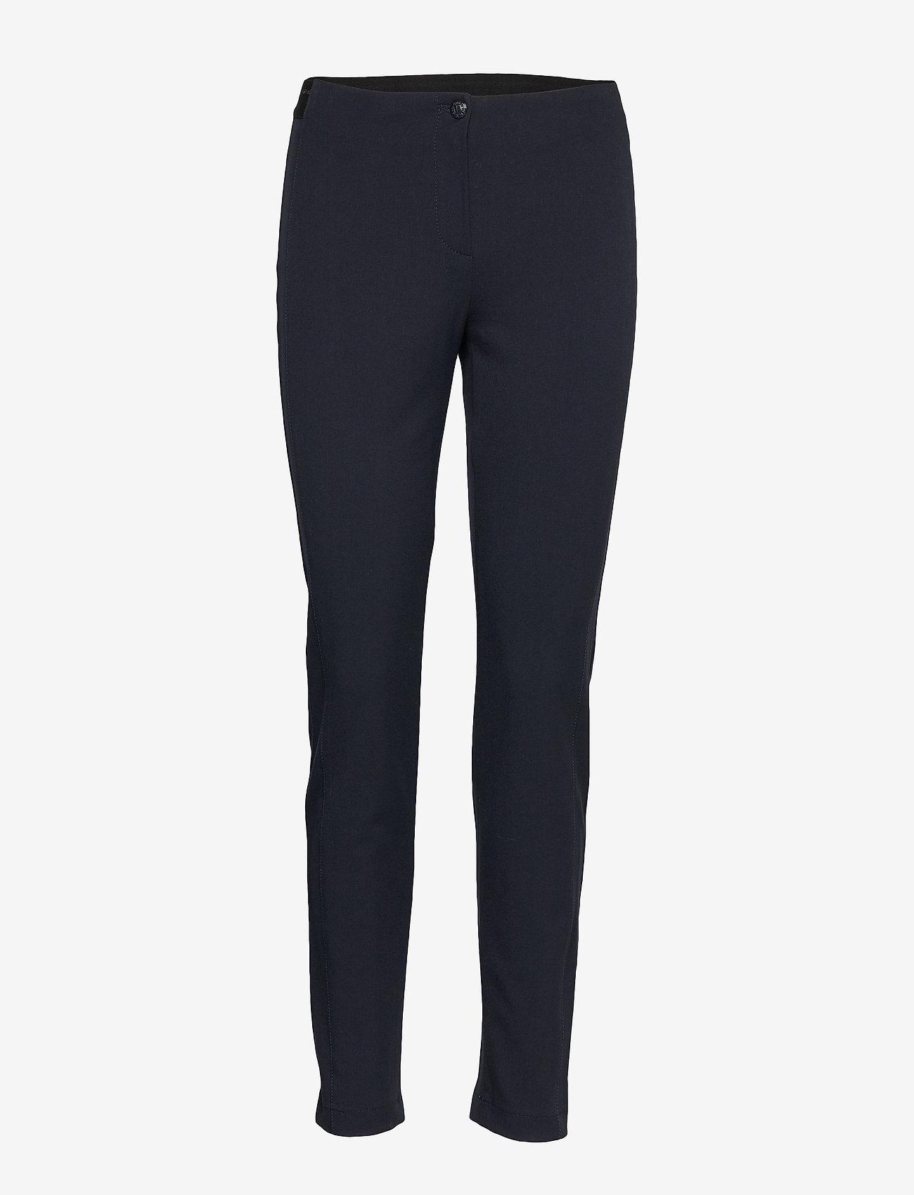 Gerry Weber Edition - CROP LEISURE TROUSER - broeken med skinny fit - navy - 0