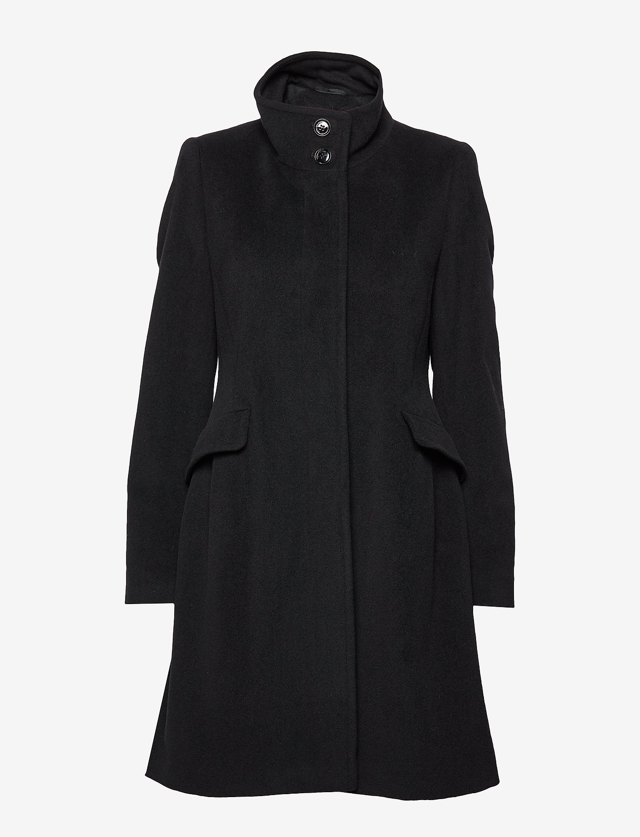 Coat Wool (Black) - Gerry Weber Edition wcIVPx