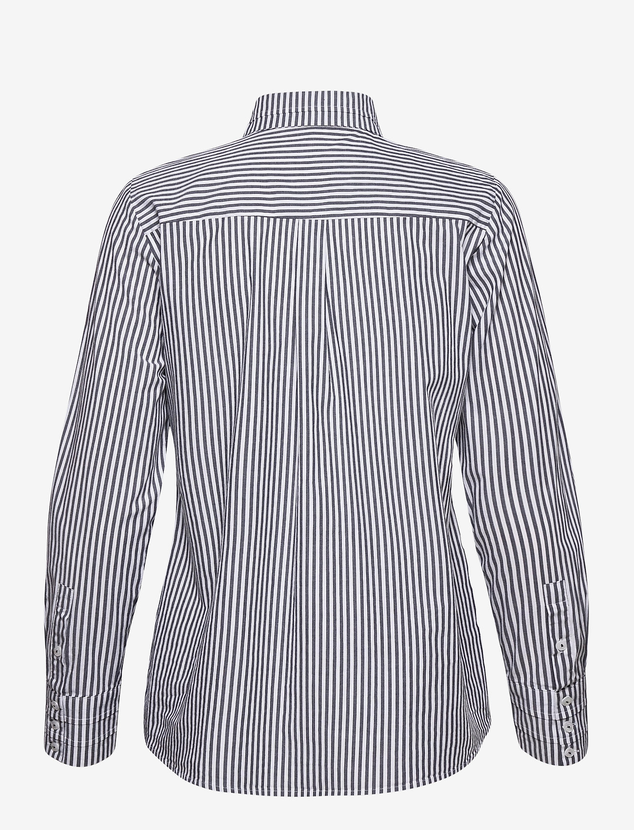 Gerry Weber Edition - BLOUSE LONG-SLEEVE - chemises à manches longues - white dark navy - 1