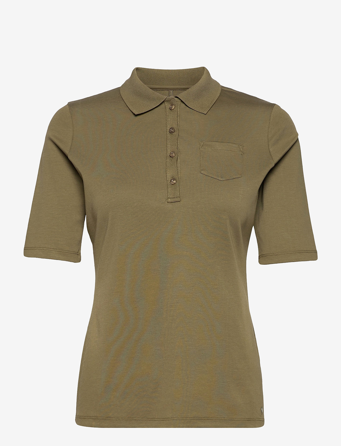 Gerry Weber Edition - POLO SHIRT 3/4 SLEEV - polohemden - light khaki - 0