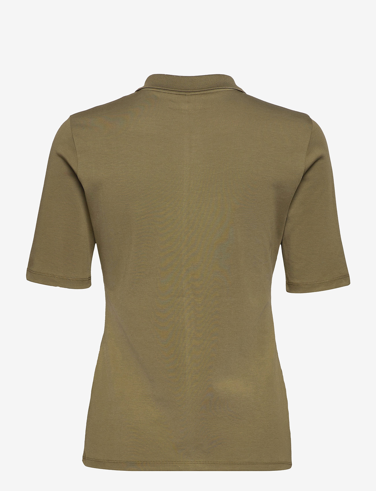 Gerry Weber Edition - POLO SHIRT 3/4 SLEEV - polohemden - light khaki - 1