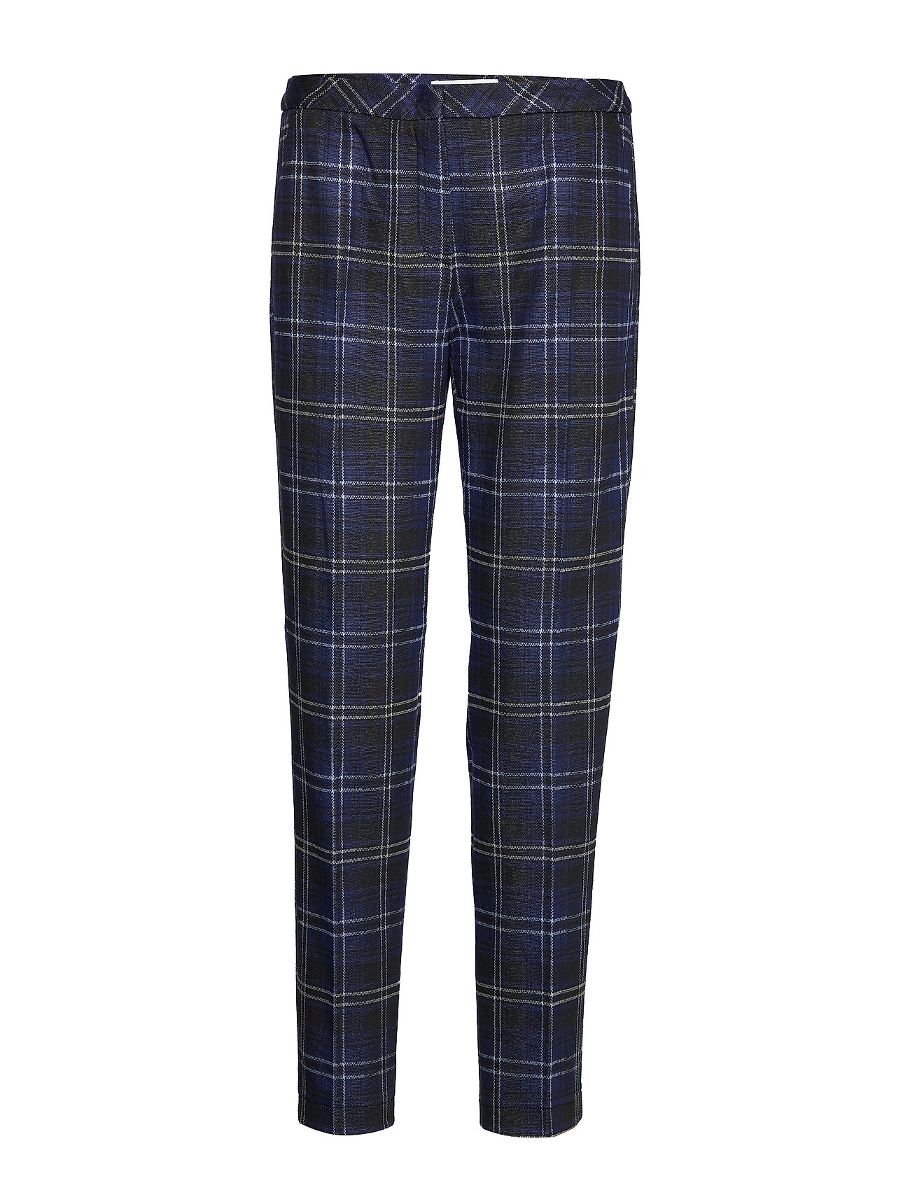 Gerry Weber Edition CROP LEISURE TROUSER - BLUE/BLACK/RUST/GREY
