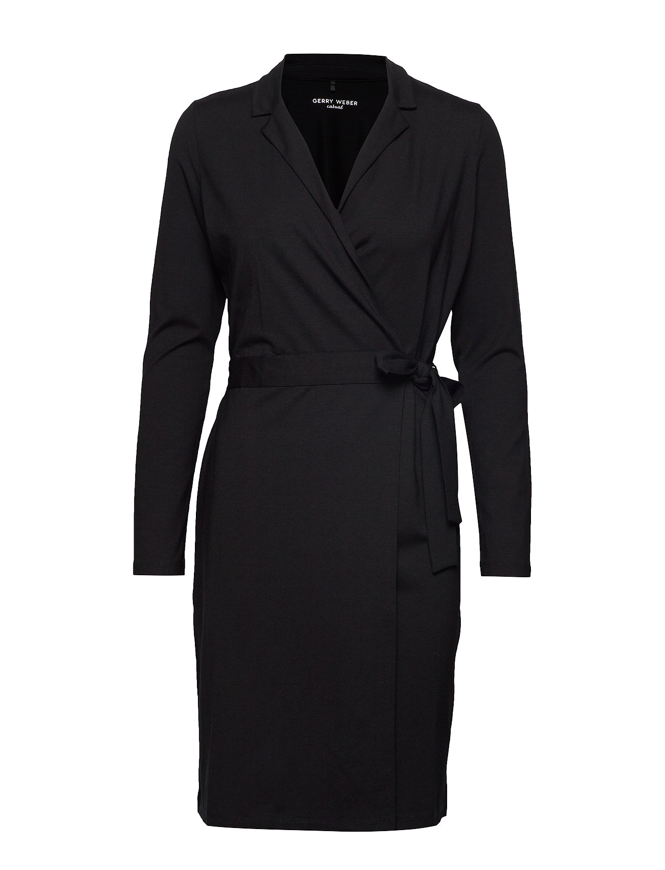 Gerry Weber Edition DRESS KNITTED FABRIC - BLACK