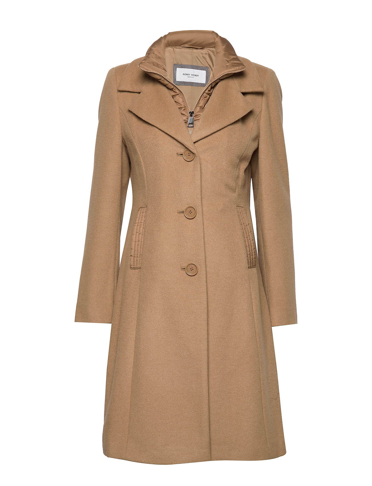 Gerry Weber Edition COAT WOOL - CAMEL