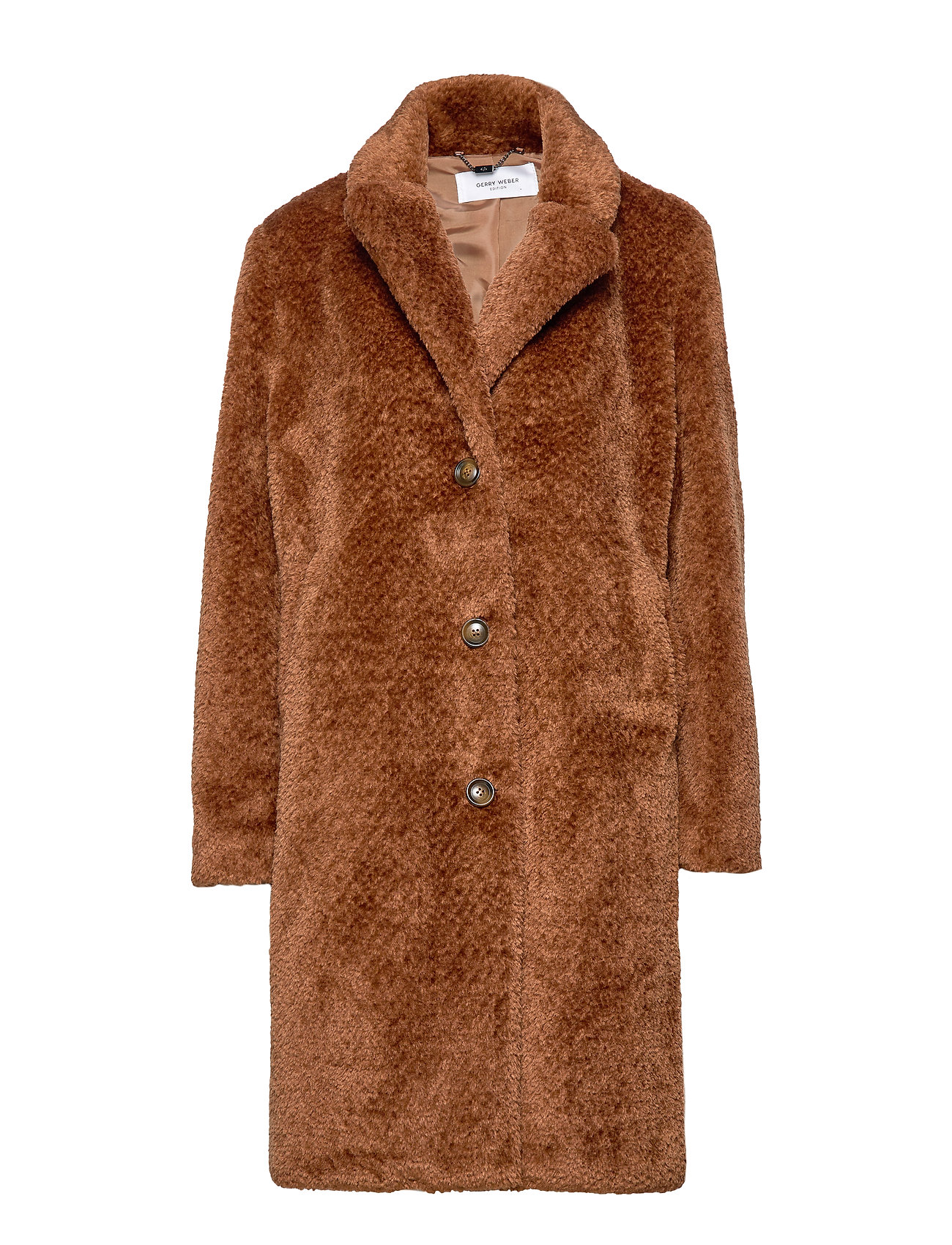 Gerry Weber Edition COAT NOT WOOL - TOBACCO