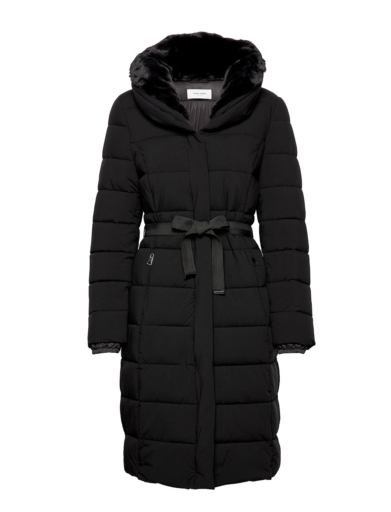 Gerry Weber Edition COAT NOT WOOL - BLACK