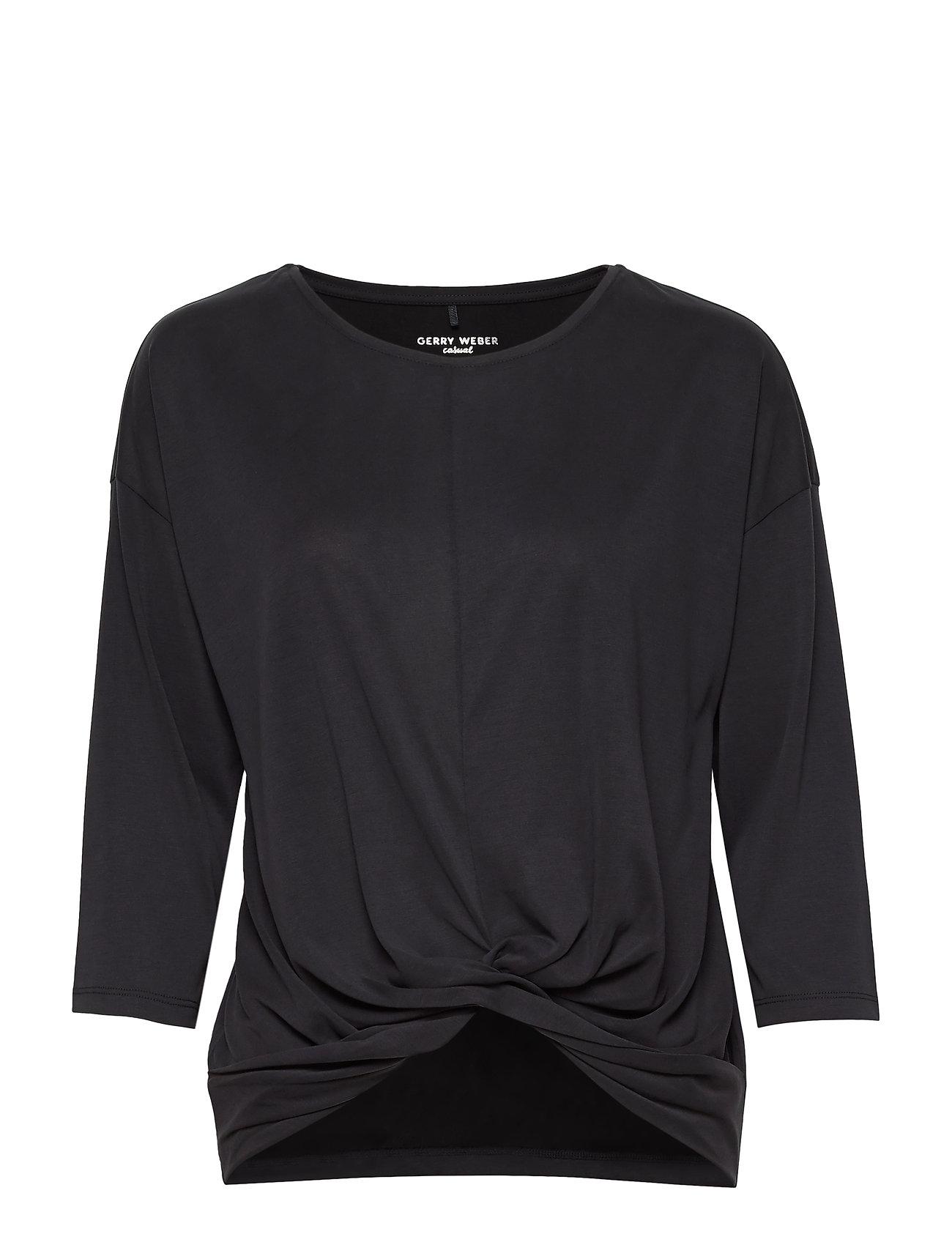 Image of T-Shirt 3/4-Sleeve R Langærmet T-shirt Sort Gerry Weber Edition (3326810587)