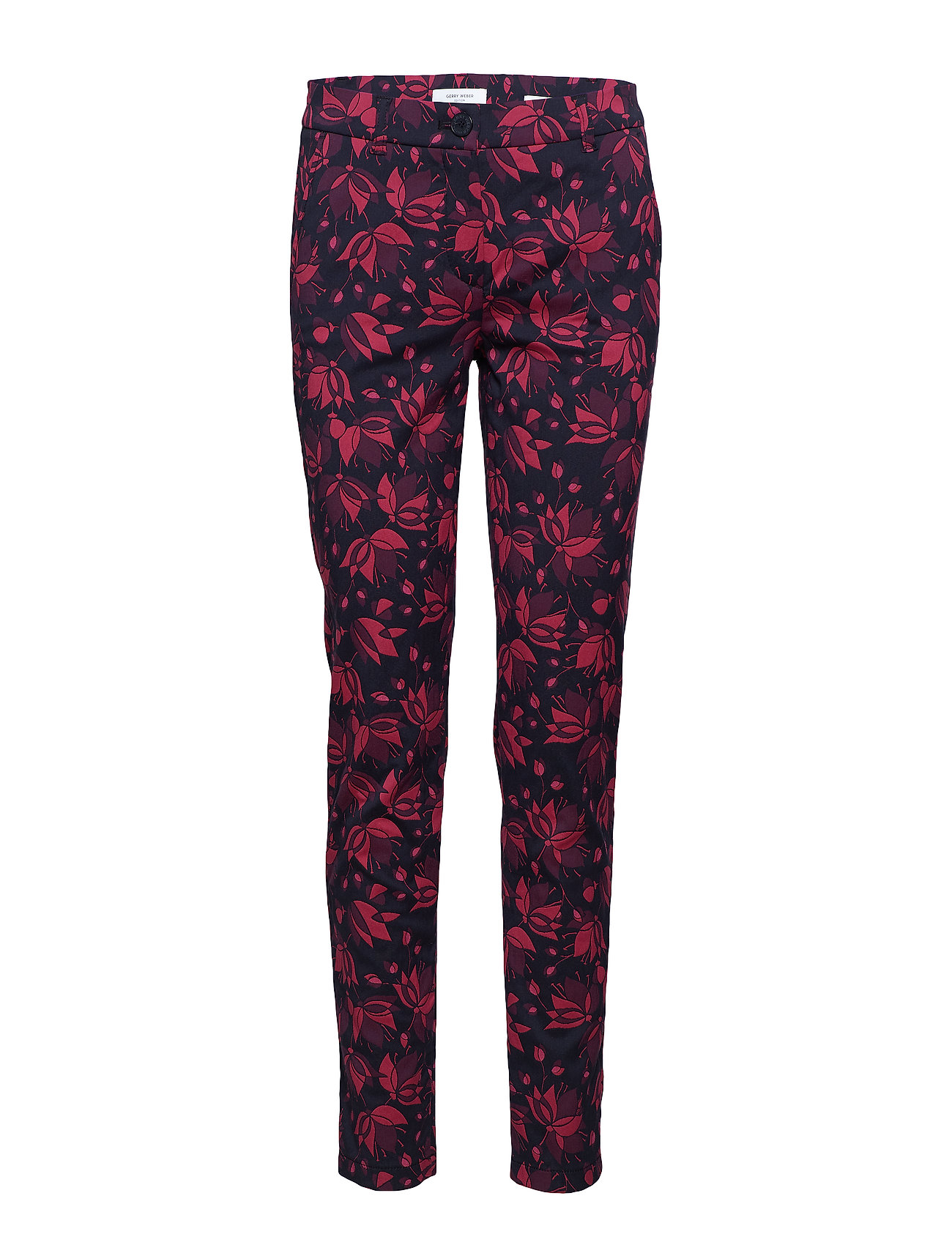 Gerry Weber Edition LEISURE TROUSERS LON - NAVY/BERRY