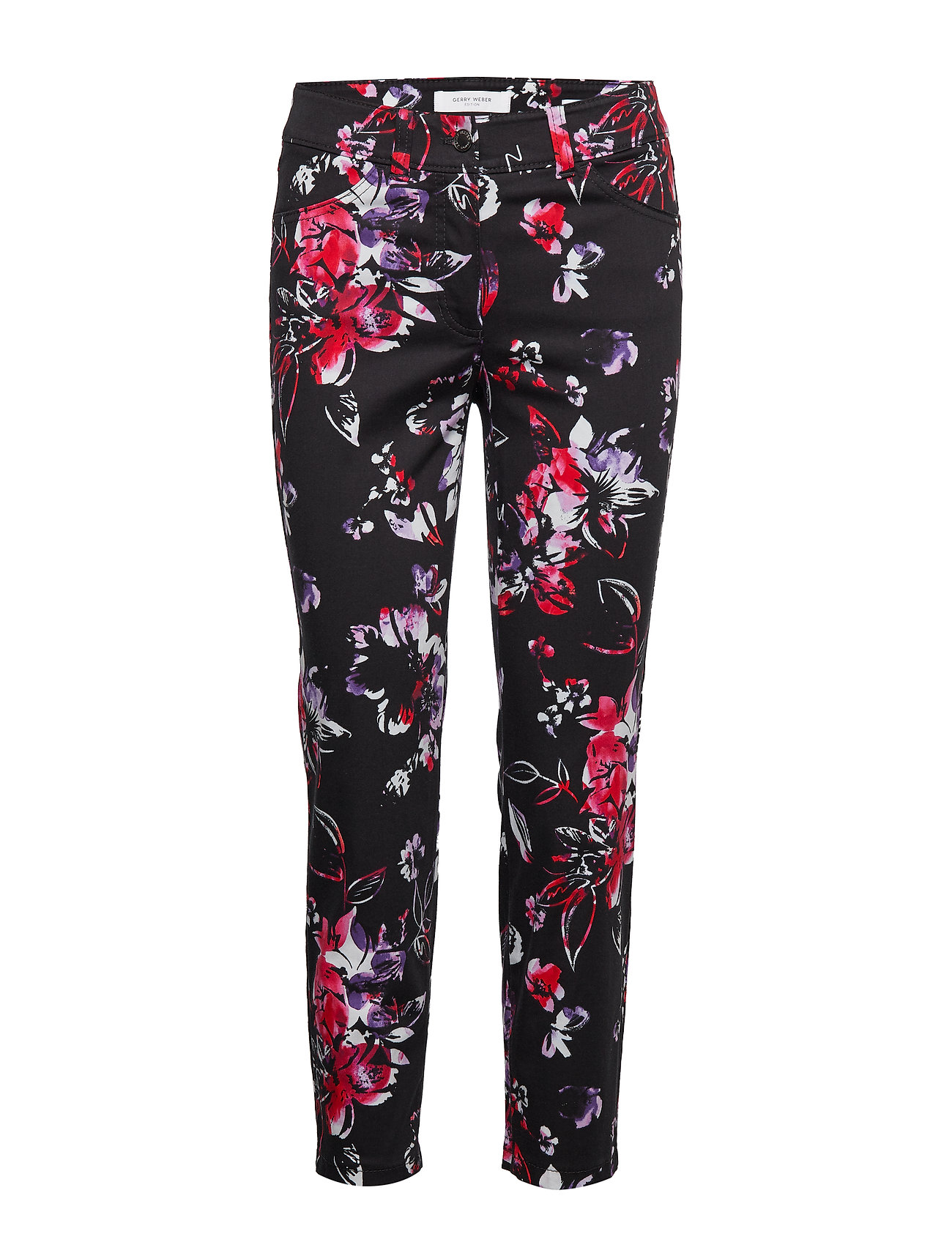 Gerry Weber Edition CROP TROUSERS JEANS - LILAC/NAVY/PINK