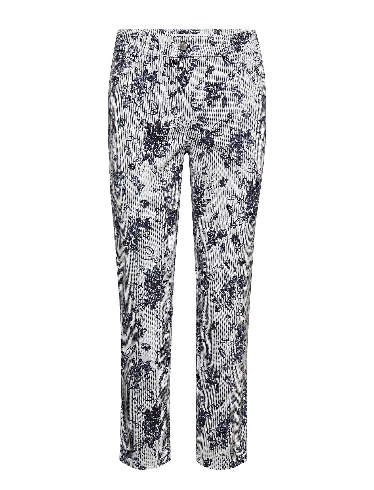 Gerry Weber Edition CROP TROUSERS JEANS - BLUE/WHITE