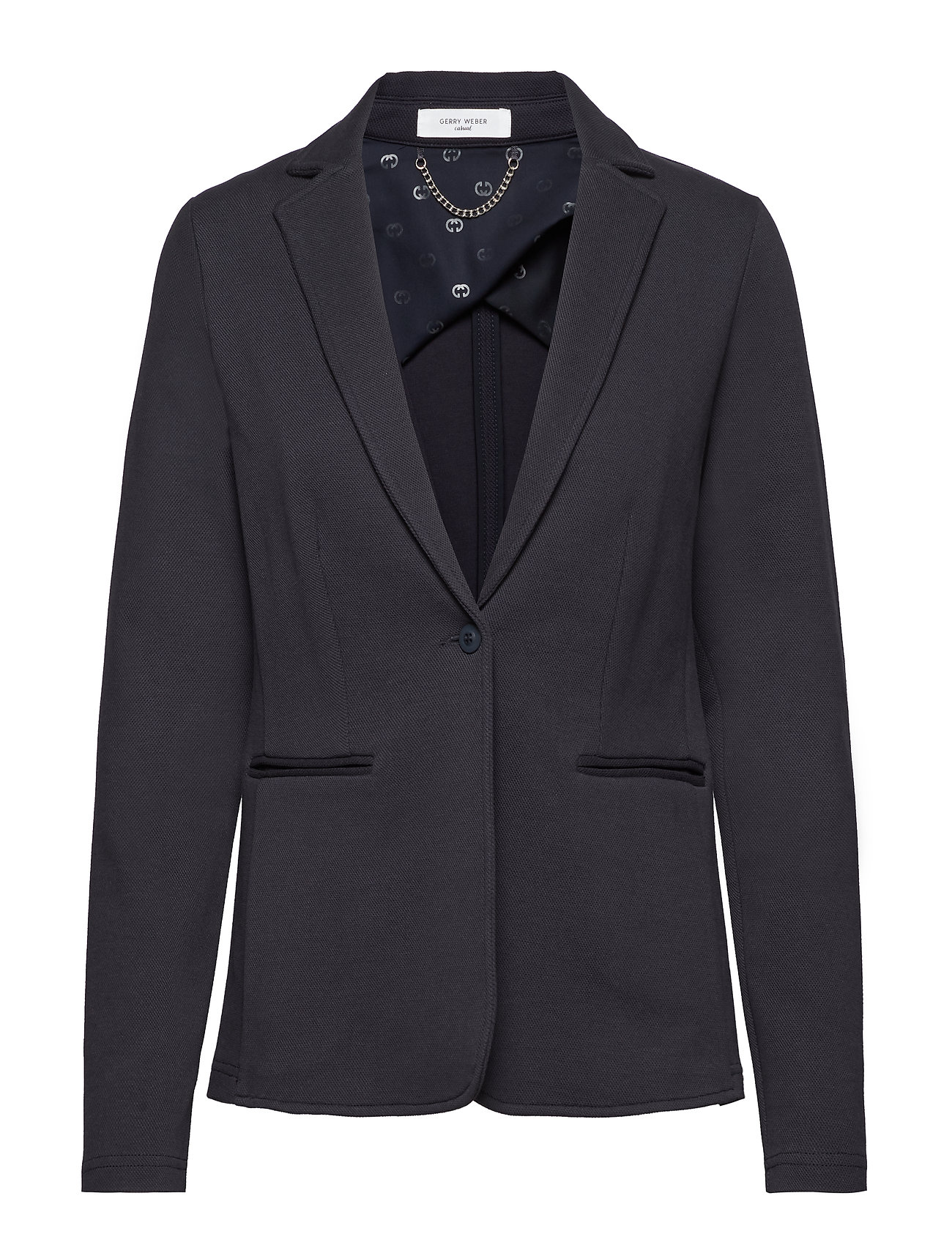 Gerry Weber Edition BLAZER SWEAT/STRICK - NAVY BLUE