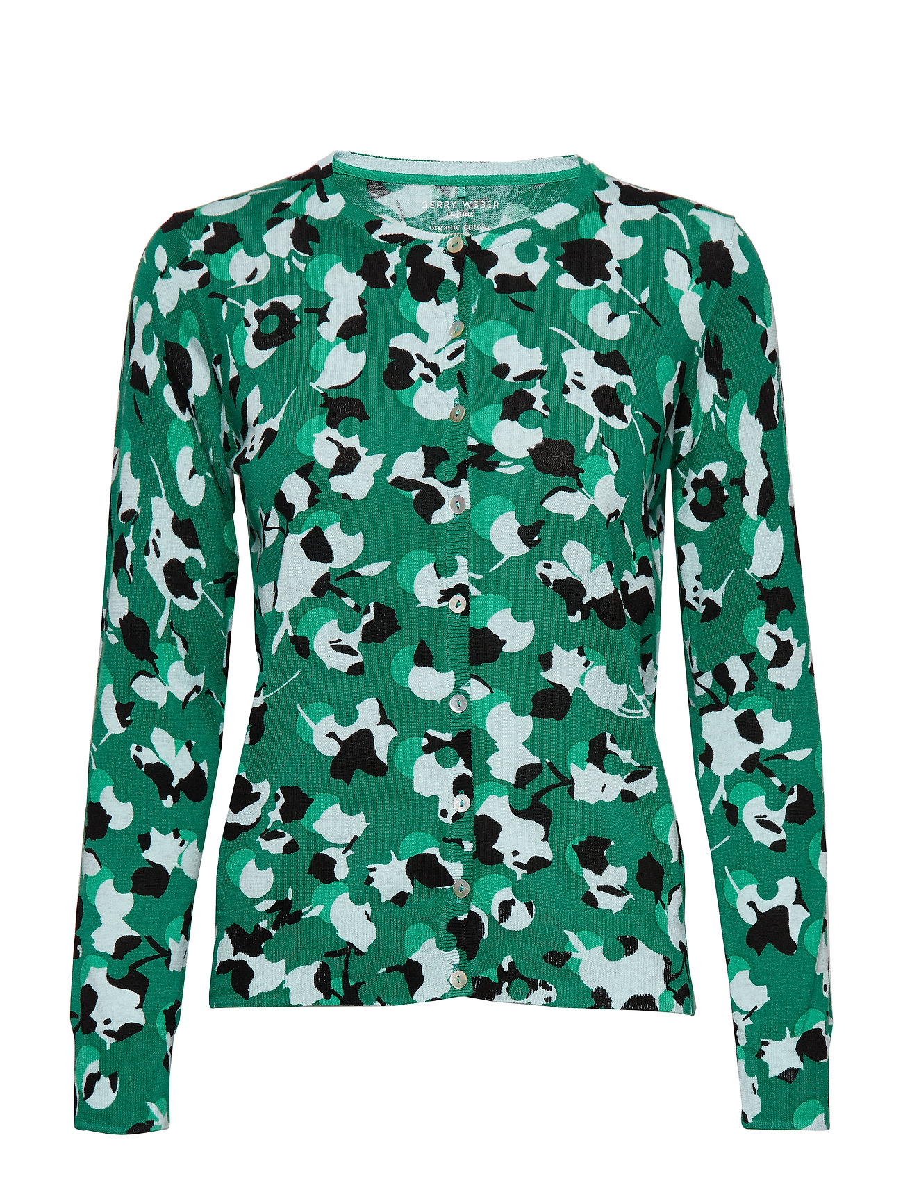 Gerry Weber Edition JACKET KNITWEAR - GREEN PRINT