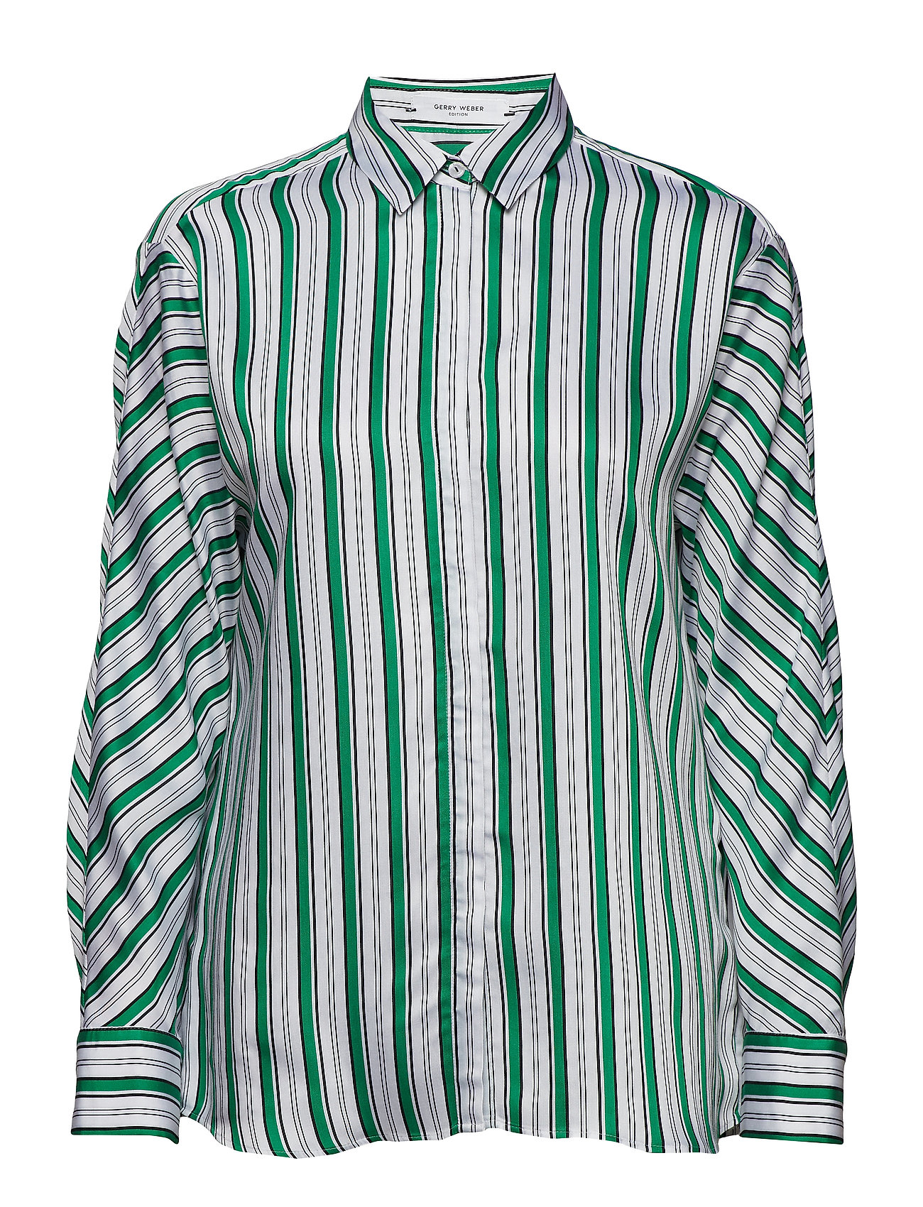 Gerry Weber Edition BLOUSE LONG-SLEEVE - WHITE-SPRINGGREEN