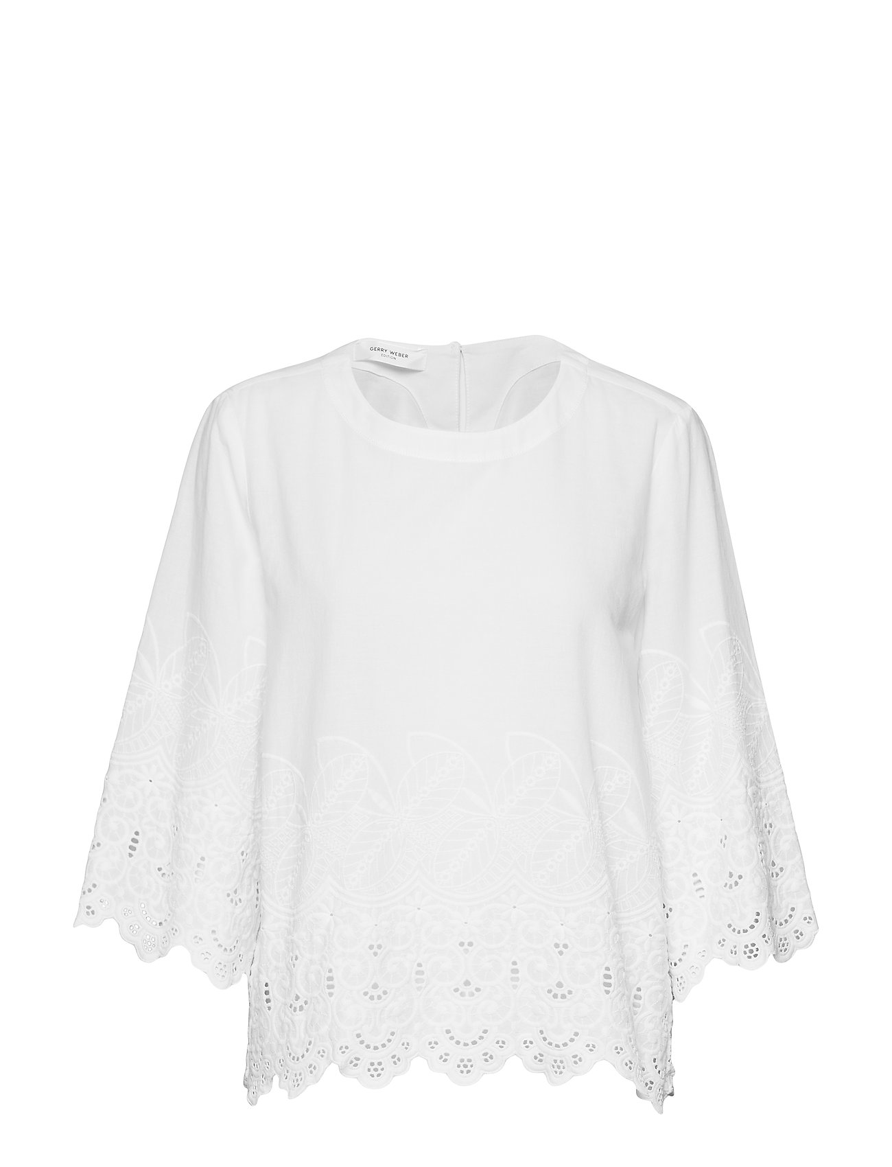 Gerry Weber Edition BLOUSE 3/4-SLEEVE - WHITE/WHITE