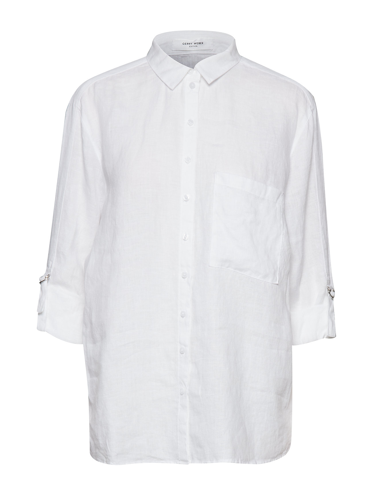 Gerry Weber Edition BLOUSE LONG-SLEEVE - WHITE/WHITE