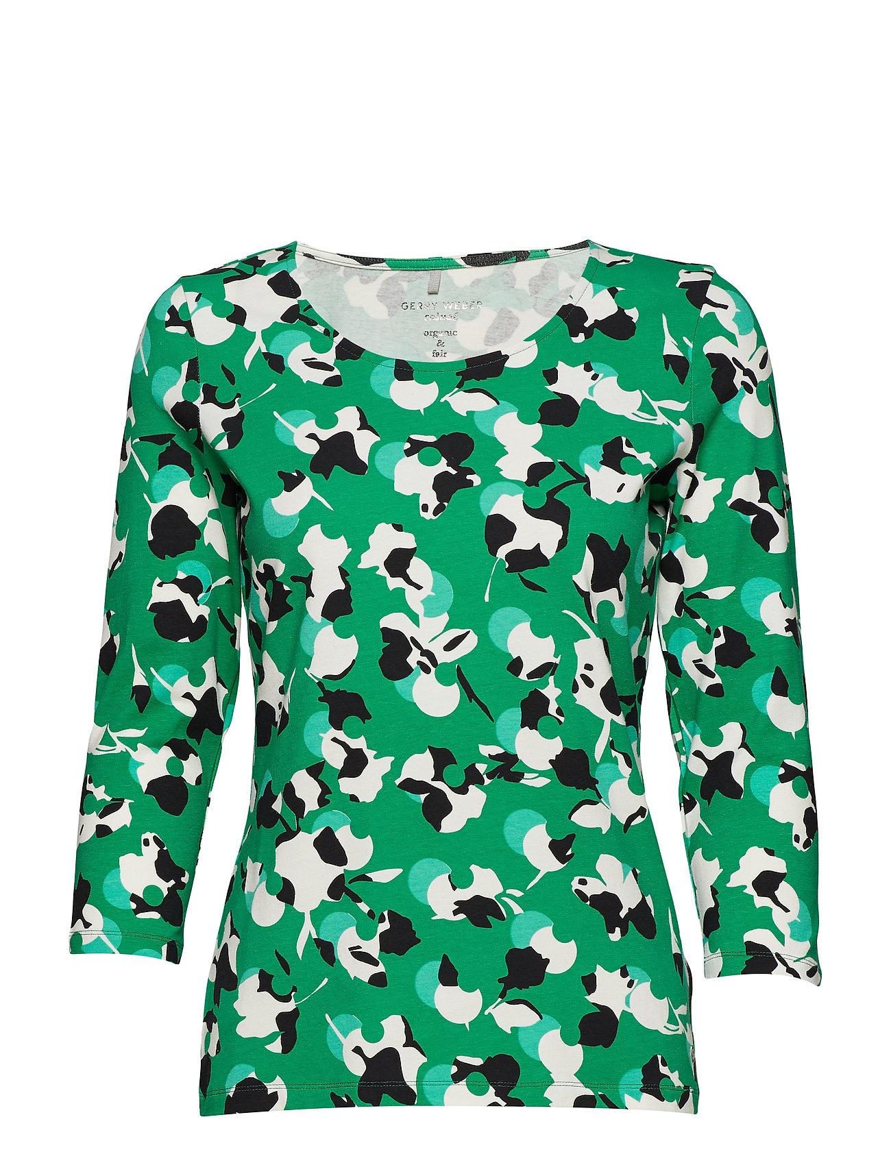 Image of T-Shirt 3/4-Sleeve R Langærmet T-shirt Grøn GERRY WEBER EDITION (3094064895)
