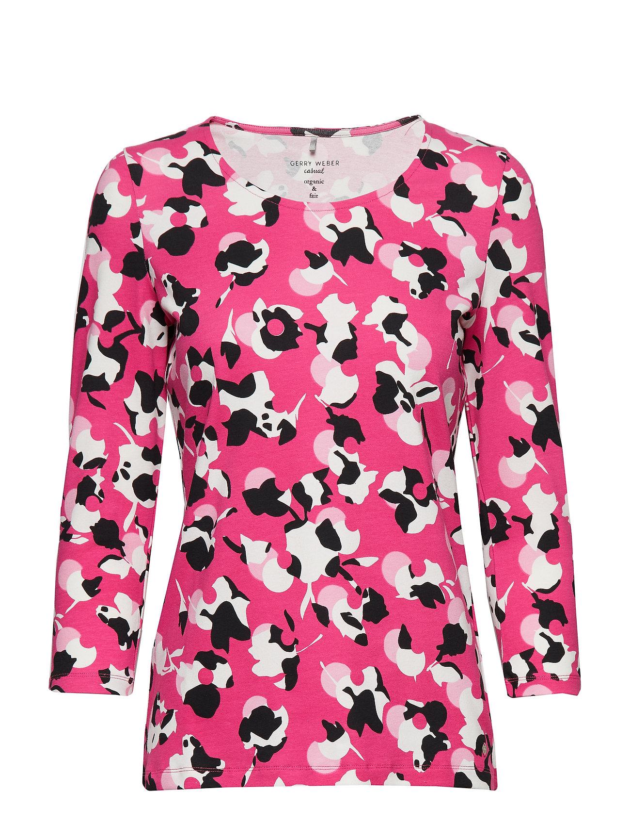 Image of T-Shirt 3/4-Sleeve R Langærmet T-shirt Lyserød GERRY WEBER EDITION (3090827599)