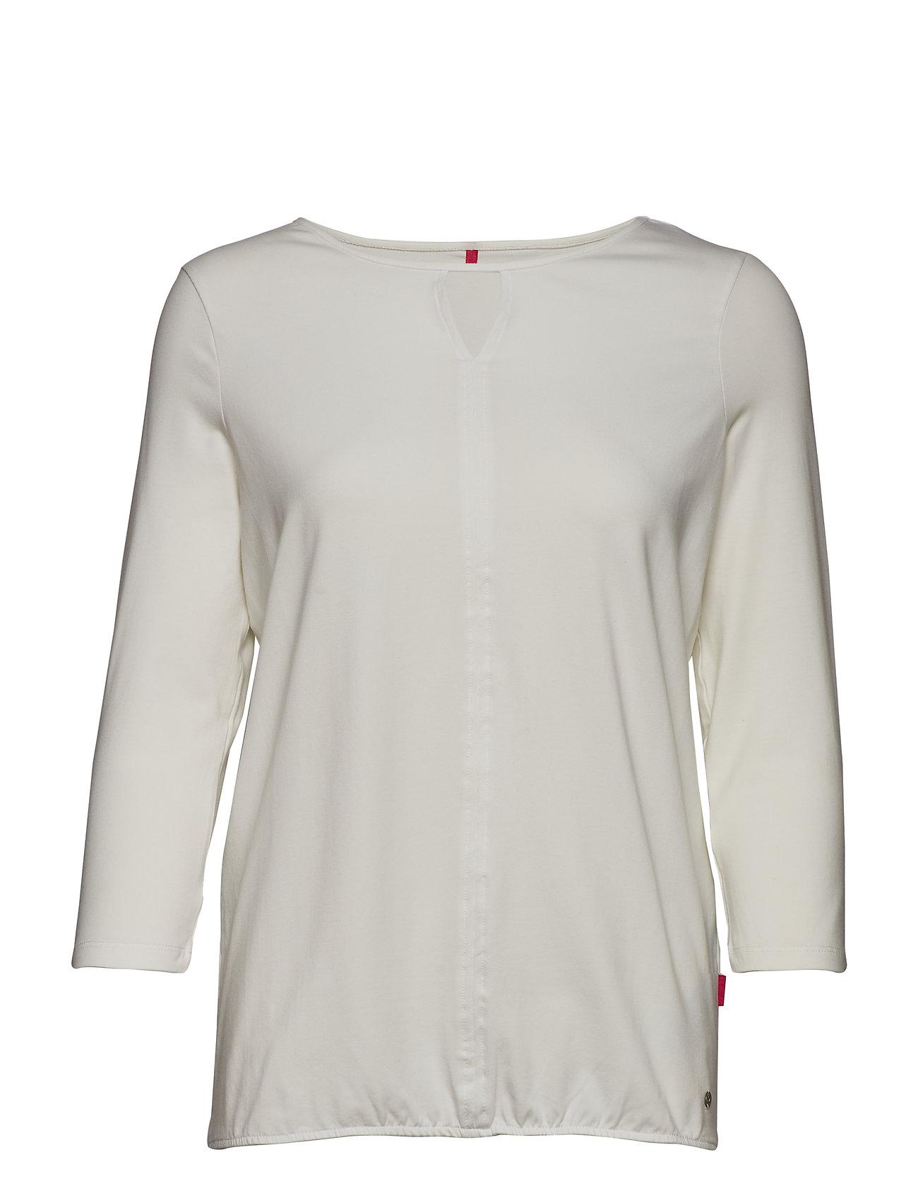 Image of T-Shirt 3/4-Sleeve R Langærmet T-shirt Creme GERRY WEBER EDITION (3091989125)