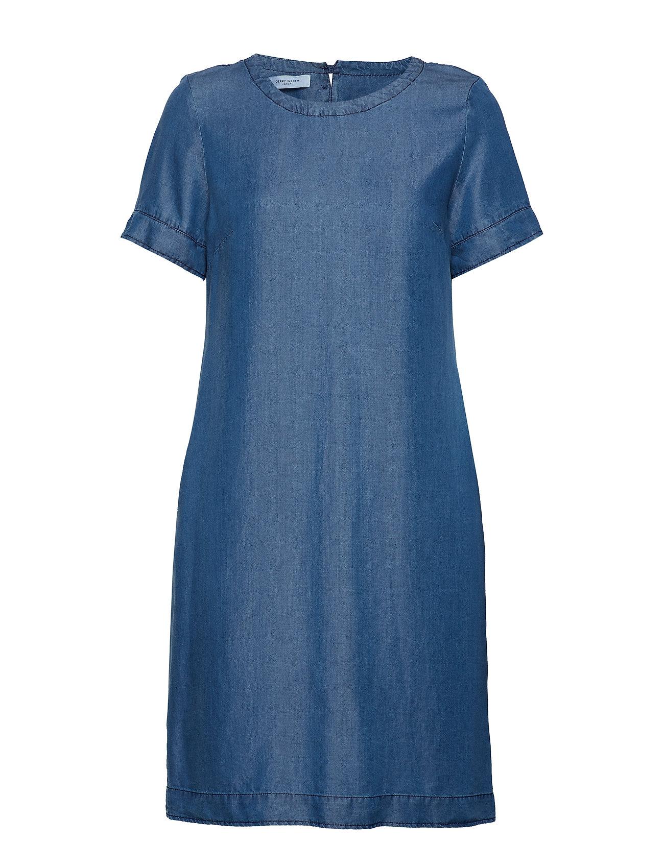 Gerry Weber Edition DRESS WOVEN FABRIC - BLUE DENIM