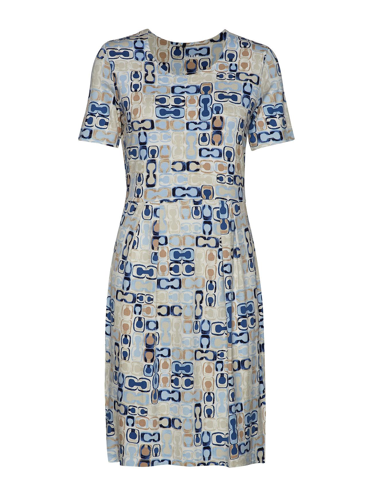 Gerry Weber Edition DRESS KNITTED FABRIC - BLUE PRINT