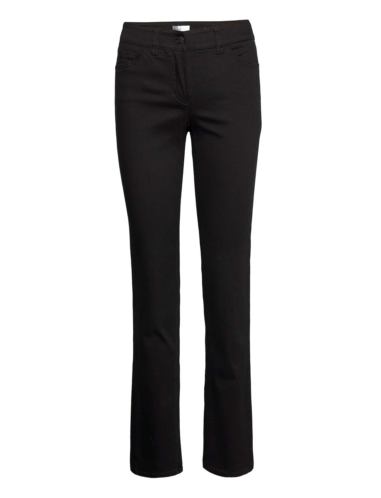 Jeans Long Slim Jeans Sort Gerry Weber Edition