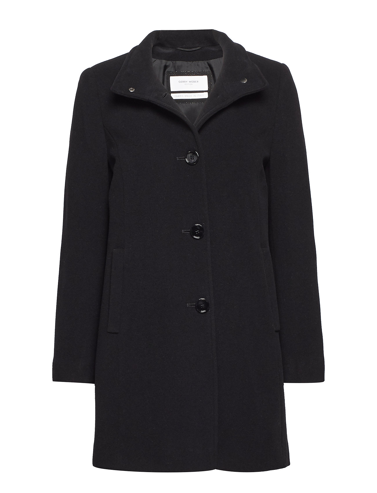 Coat Wool (Black) (£120) - Gerry Weber Edition -  7363cc0a7bfe