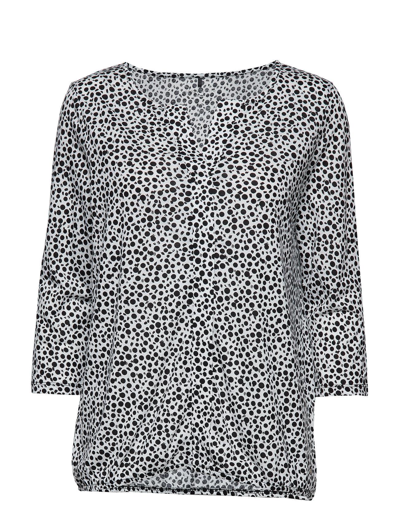 Image of T-Shirt 3/4-Sleeve R Langærmet T-shirt Hvid GERRY WEBER EDITION (3090827623)