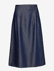 Gerry Weber Edition - SKIRT SHORT WOVEN FA - jeansowe spódnice - vintage indigo - 2