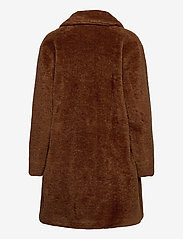 Gerry Weber Edition - COAT NOT WOOL - faux fur - haselnut - 2