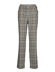 LEISURE TROUSERS LON - BROWN/ YELLOW/ GRAY