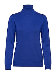 PULLOVER LONG-SLEEVE - ELECTRIC BLUE