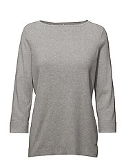 PULLOVER 3/4-SLEEVE - MICRO CHIP MELANGE