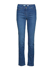 JEANS LONG - BLUE DENIM WITH USE