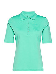 POLO SHIRT 3/4 SLEEV - ALOE