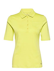 POLO SHIRT 3/4 SLEEV - LIME