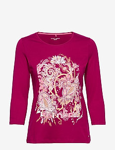 T-SHIRT 3/4-SLEEVE R - PINK PASSION