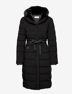 COAT NOT WOOL - BLACK