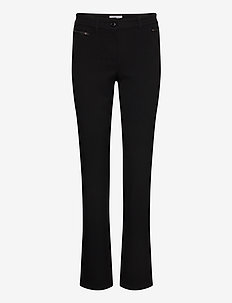 LEISURE TROUSERS LON - casual byxor - black