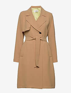 OUTDOOR JACKET NO WO - trench coats - cuban sand