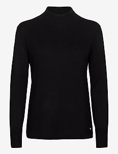 PULLOVER LONG-SLEEVE - tröjor - black
