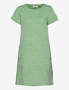 DRESS WOVEN FABRIC - summer dresses - botanical