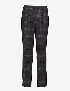 LEISURE TROUSERS LON - ANTHRA/GREY/BORDEAUXE