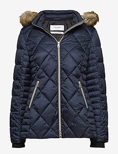 OUTDOOR JACKET NO WO - padded jackets - blue nights