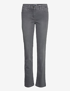 JEANS LONG - slim jeans - grey with use