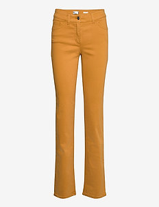 JEANS LONG - straight jeans - honey